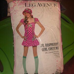 Leg Avenue Jr. Raspberry girl costume XL